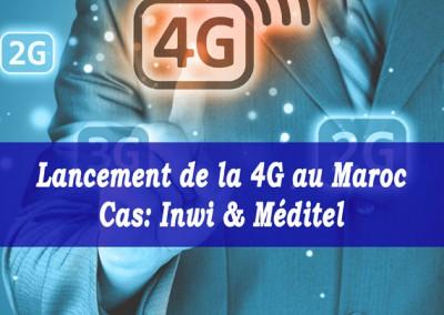 [Etude] Lancement de la 4G par INWI & MEDITEL