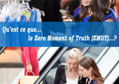 Zero Moment of Truth (ZMOT) – Marketing