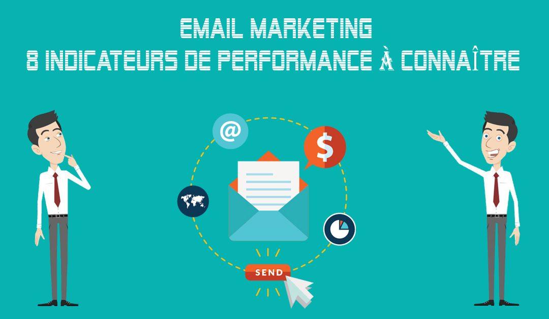 Email Marketing: 8 Indicateurs Clés de Performance à Maîtriser