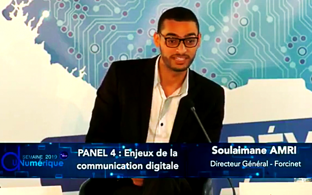 Soulaimane AMRI, Représente le Maroc à la Semaine du Numérique à Conakry, Guinée