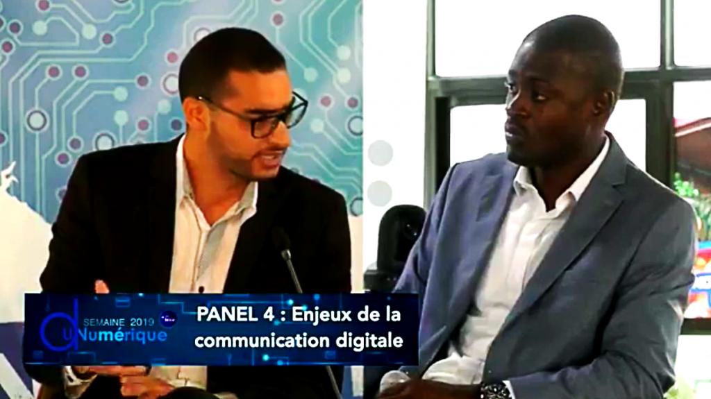 Soulaimane AMRI Panel Enjeux de la Communication Digitale - Semaine du Numérique Conakry Guinée